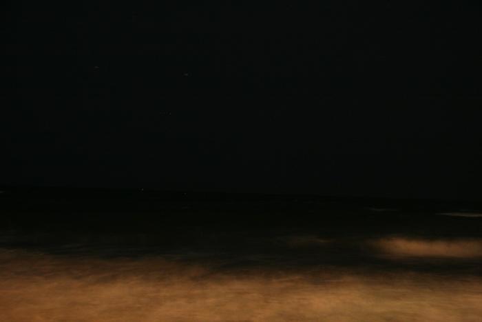 20070707夜の海@七里ガ浜