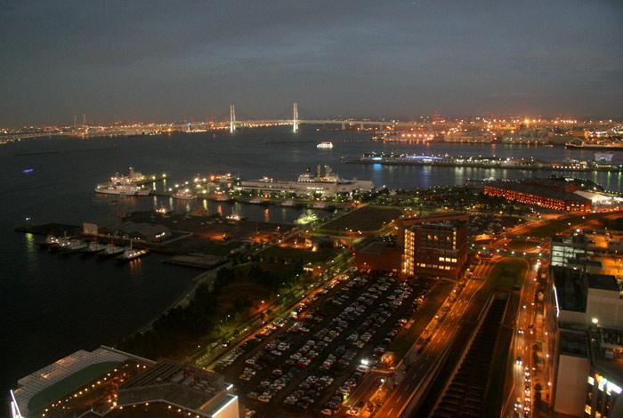 20070708夜景from横浜みなとみらい観覧者