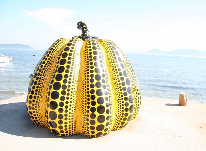 かぼちゃ@直島