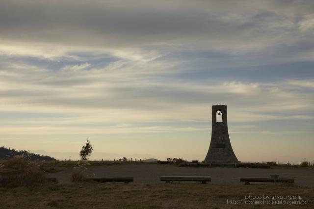 美しの塔の夕景