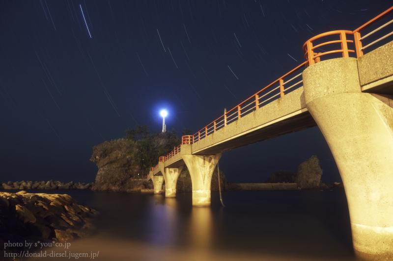弁天大橋と北天