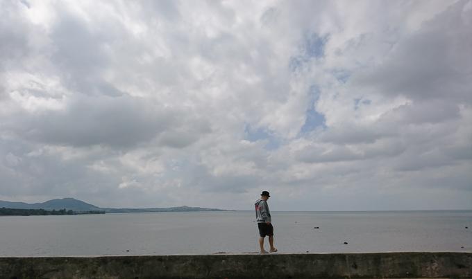 名蔵湾で.jpg