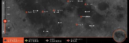 月の歩き方