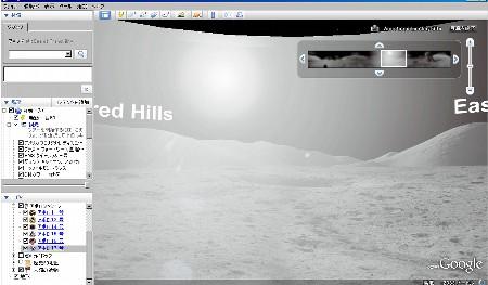 google moon アポロ