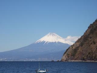 井田から見た富士