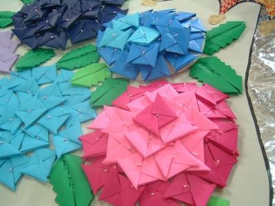 折り 折り紙 折り紙 紫陽花 : blog.soffione.biz