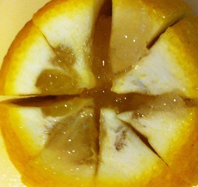 レモンの塩味コンフィ