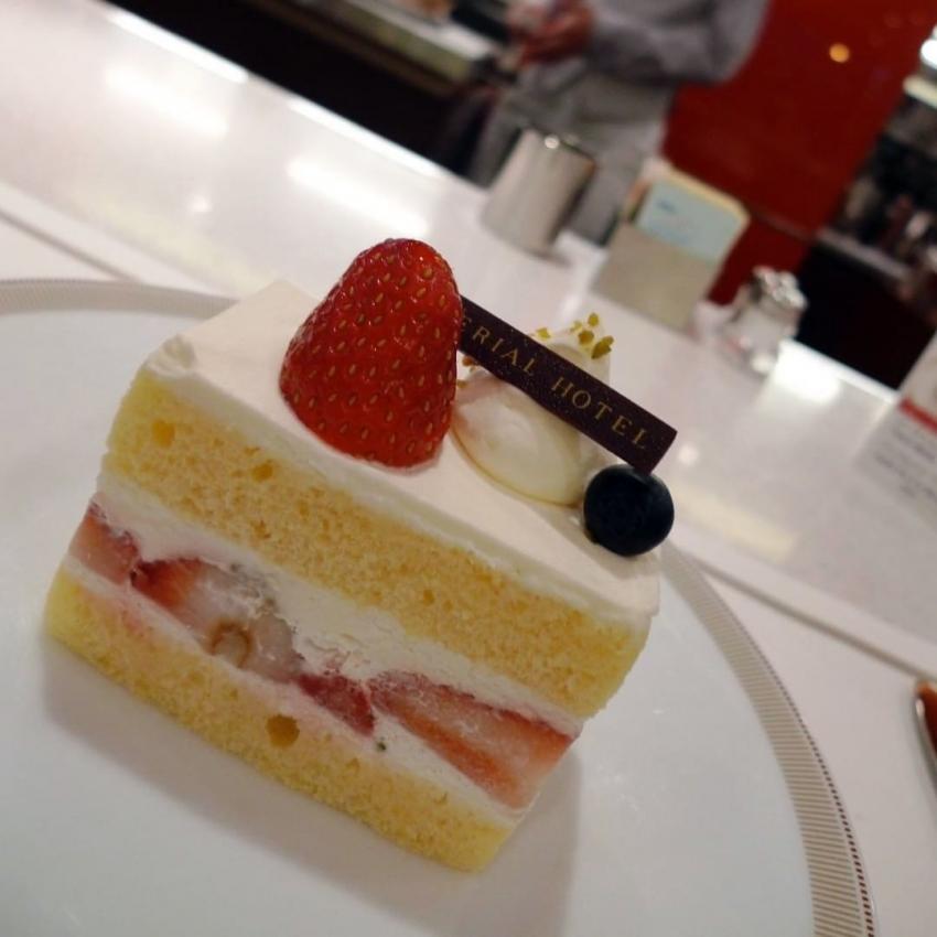 帝国ホテル,ショートケーキ