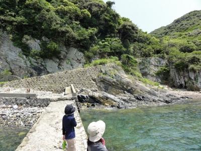 尾浦海水浴場・軍道