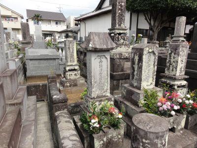 行長の墓所