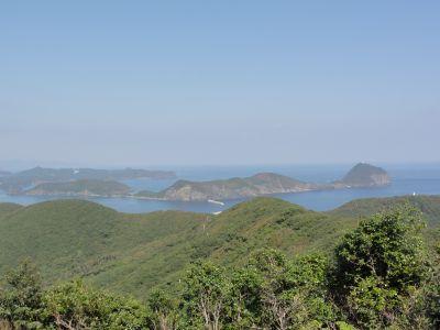黒島を望む