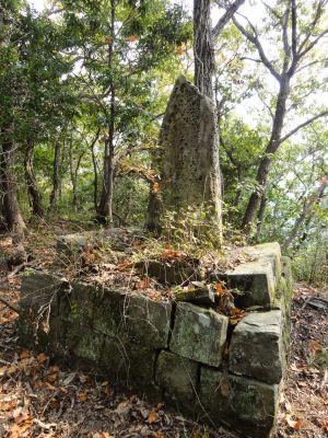 大東亜守備の地の石碑