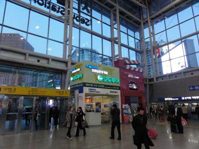 ソウル駅の観光ブース