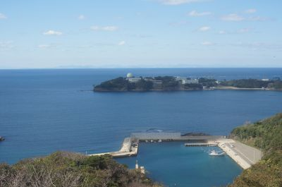 韓国展望所から見たプサン1