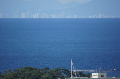 韓国展望所から見たプサン3