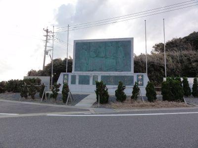 日本海海戦レリーフ