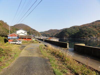 豊玉町貝鮒入口
