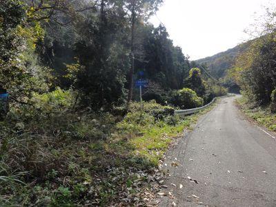 大石浦砲台・入口