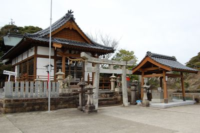 住吉神社(鴨居瀬)