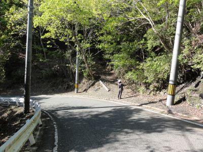 飯盛山・登山口