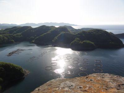 飯盛山山頂からの眺望