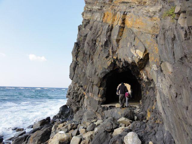 阿連の洞門