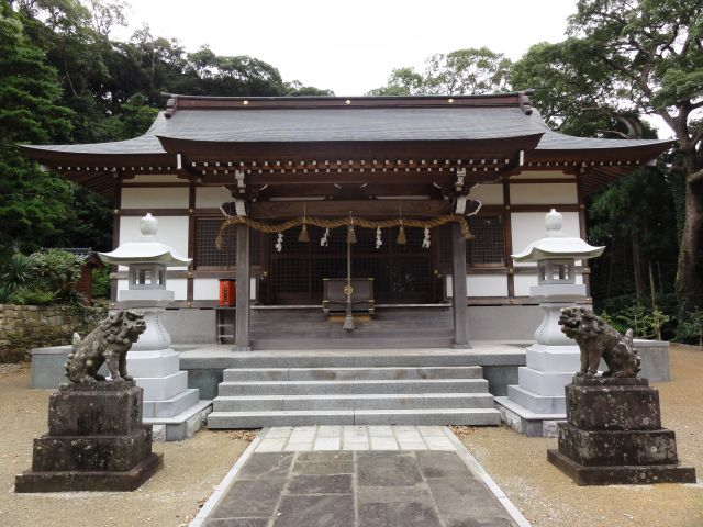 住吉神社(鶏知)