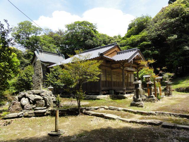 銀山上神社(久根田舎)