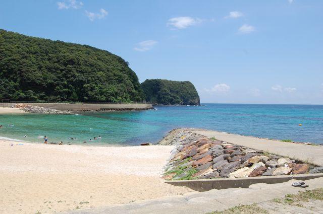 美津島海水浴場遠景2