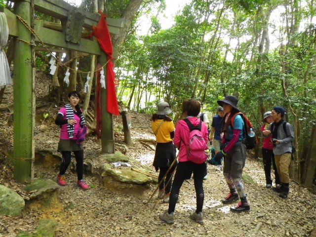 白嶽神社の鳥居