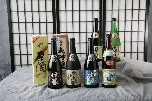 河内酒造のお酒各種