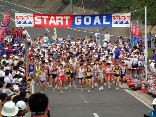 国境マラソンIN対馬