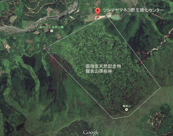 龍良山地図