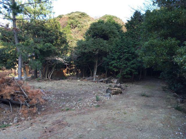 コロク神社への遊歩道入口