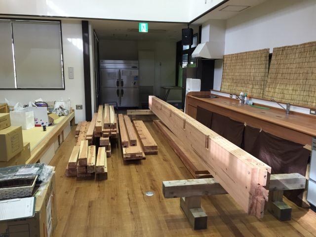 ふれあい食堂 憩い・建設中1