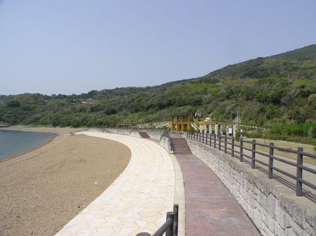 板形海水浴場