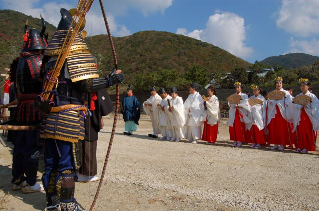 小茂田濱神社大祭