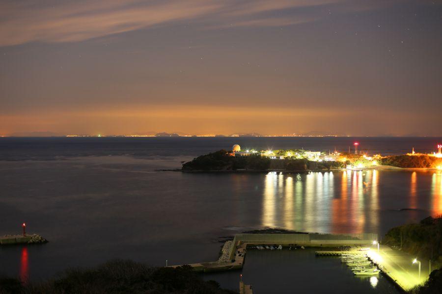 韓国展望所・釜山の夜景