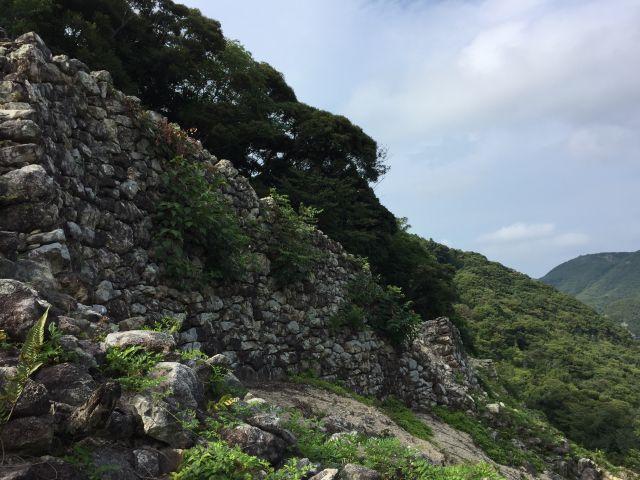 古代山城・金田城