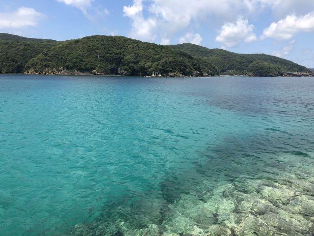 赤島の海2