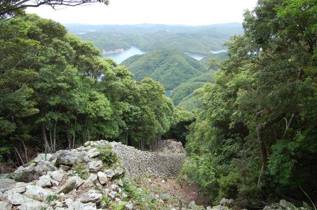 日本「最強の城」(NHK)に「金田城」が選定されました!!