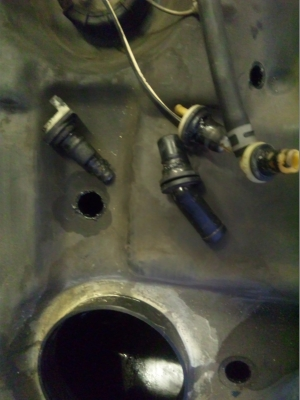 燃料タンクグロメット