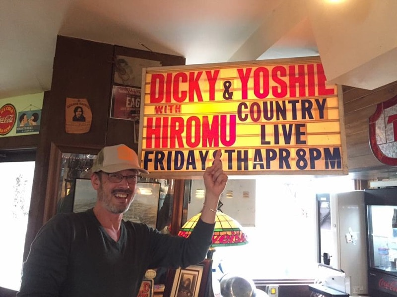 2016-4-8 Dicky Kitano and Yoshie with Hiromu Country Live at Bubble Over