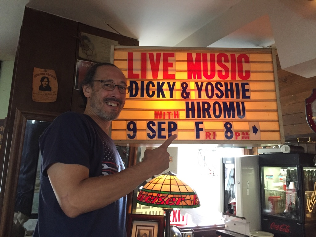 Dicky & Yoshie with Hiromu live
