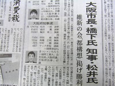 橋下知事の大阪府政を問う ブログコミュニティ - 政治ブログ村