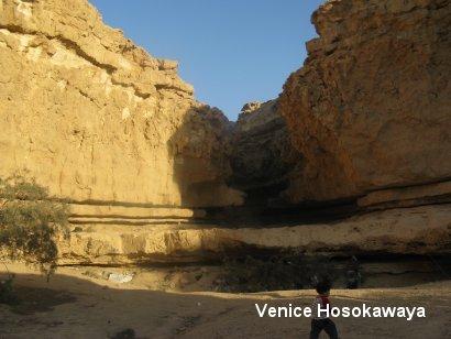 カイロ東砂漠ツアー登り口