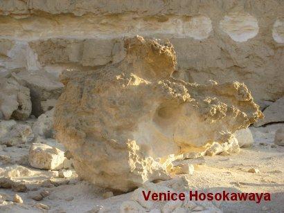 カイロ東砂漠ツアー奇岩