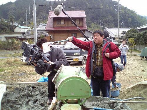 NHKのクルーの方々