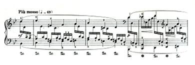 譜例クライスレリアーナNr4-001(Kreisleriana-Nr4 Piu mosso)