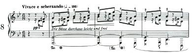 クライスレリアーナ8冒頭譜例